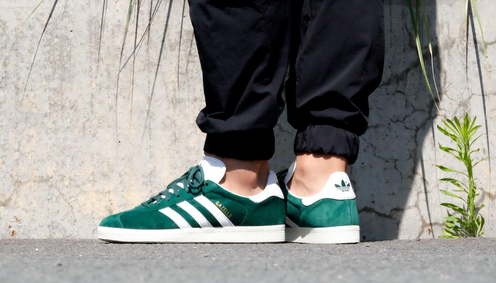 Adidas Gazelle Collegiate Green Vintage White BB5490