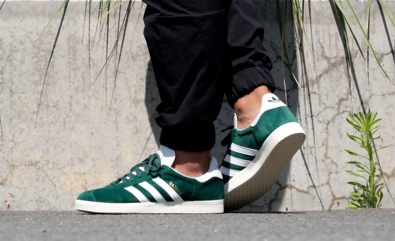 Adidas Gazelle Collegiate Green / Vintage White
