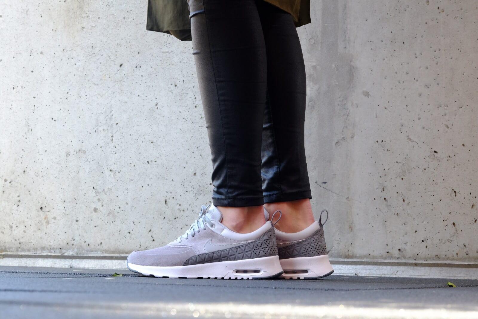 Nike WMNS Air Max Thea Premium Leather Matte Silver Pure