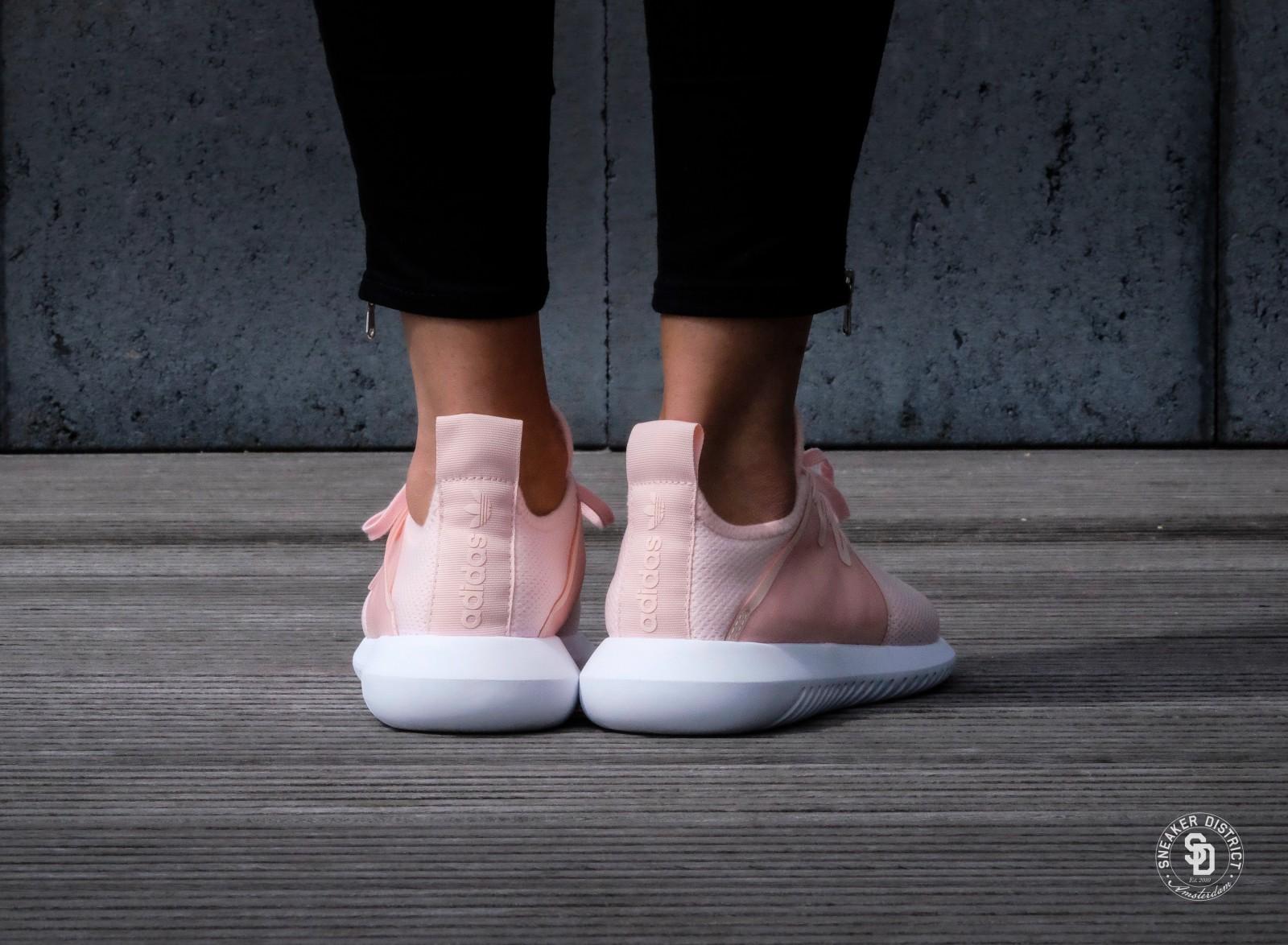 adidas tubular pink