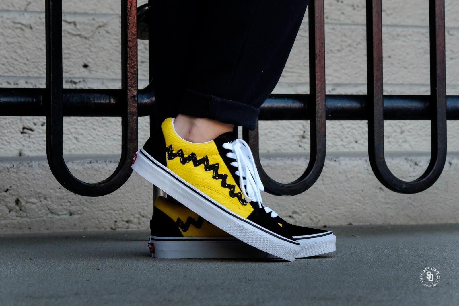Vans x Peanuts Old Skool Charlie BrownBlack VN0A38G1OHJ