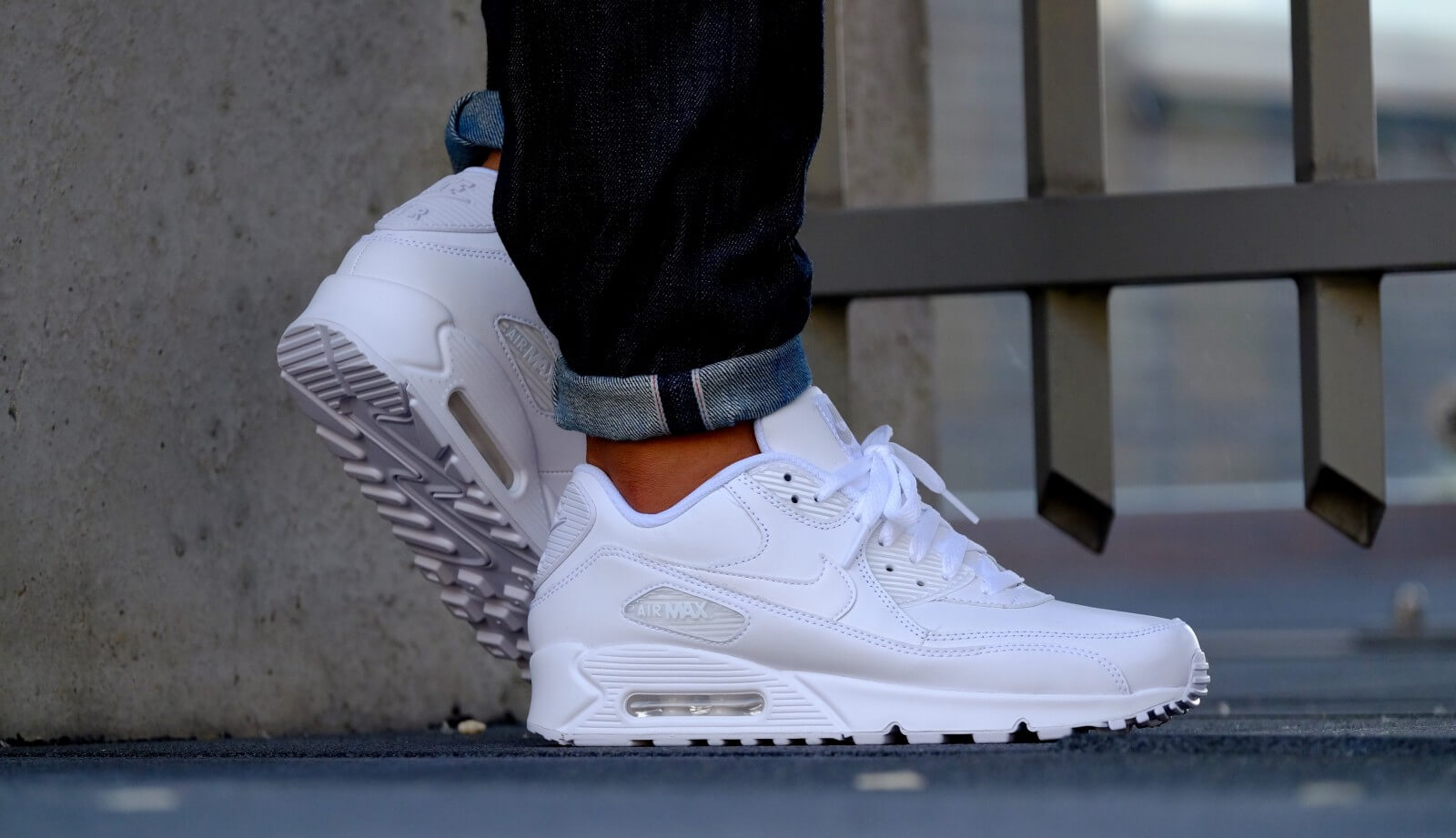 302519 90 Leather Blanc Blanc Air Max 113 Nike ZwYzqq