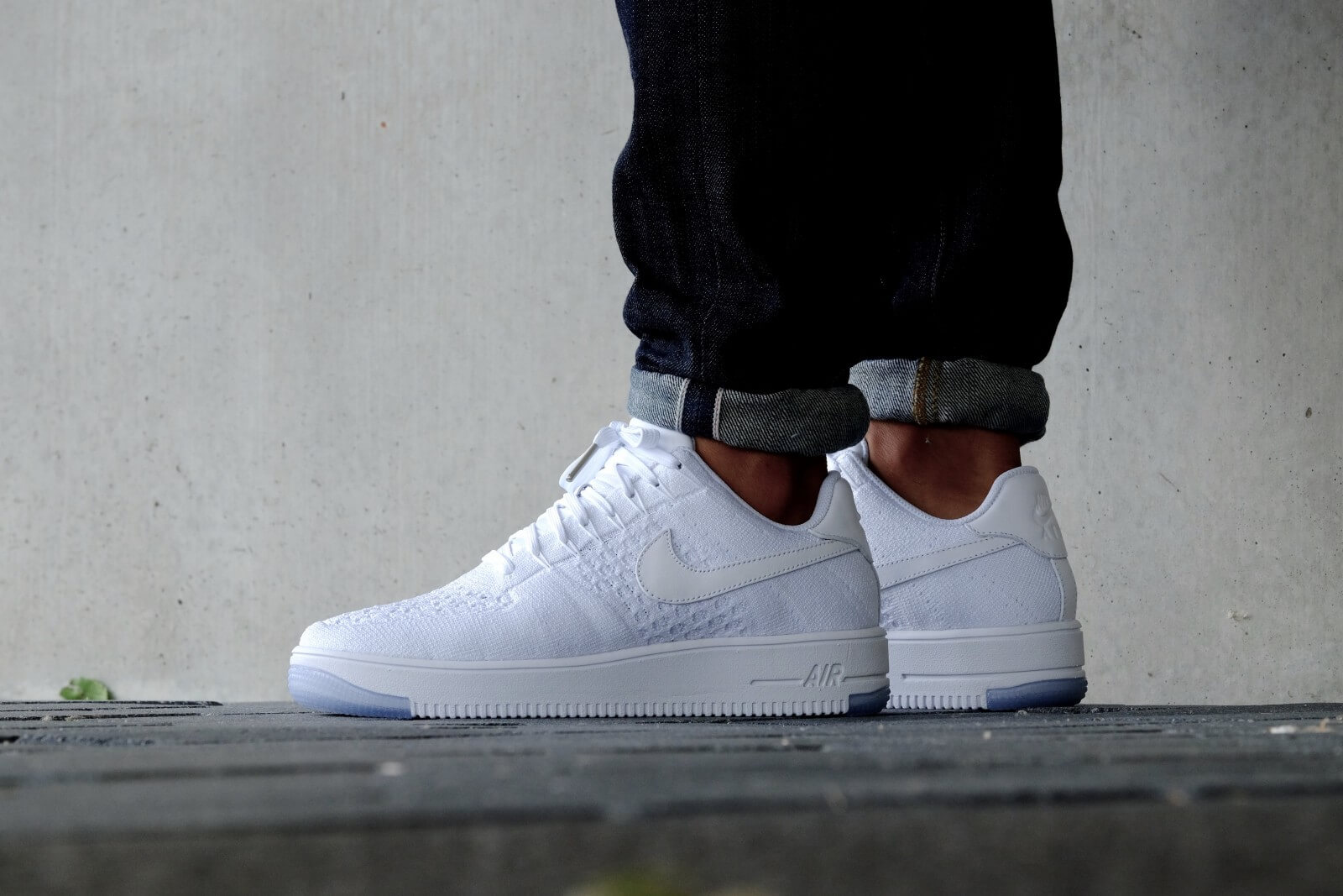 Nike WMNS Air Force 1 Flyknit Low White White 820256 101