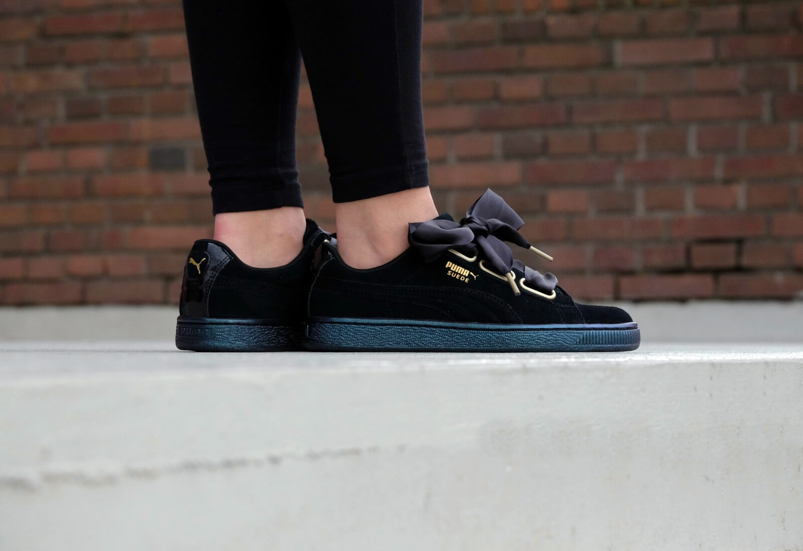 puma basket heart vs suede heart