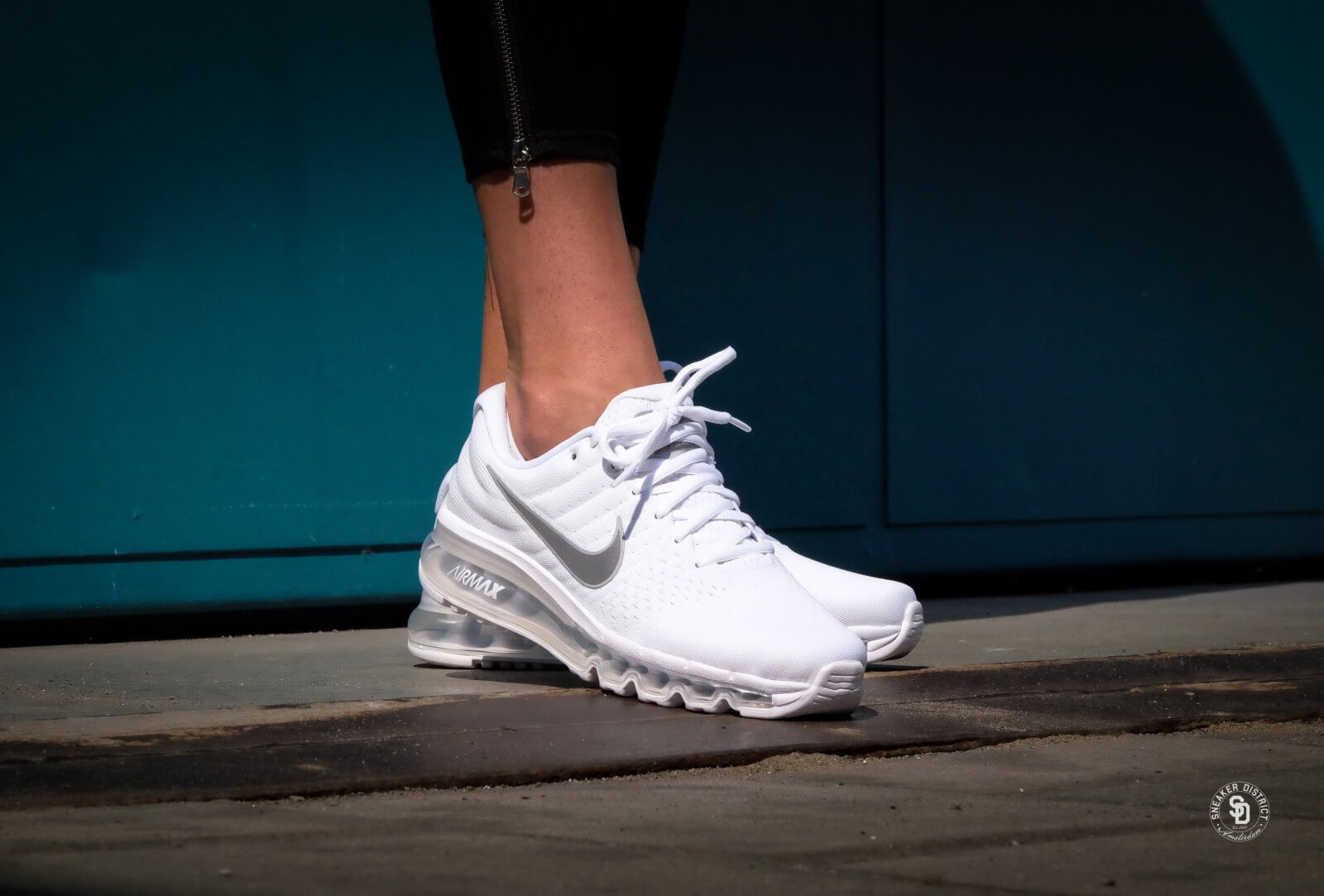 Nike Air Max 2017 (GS) White/Metallic Silver