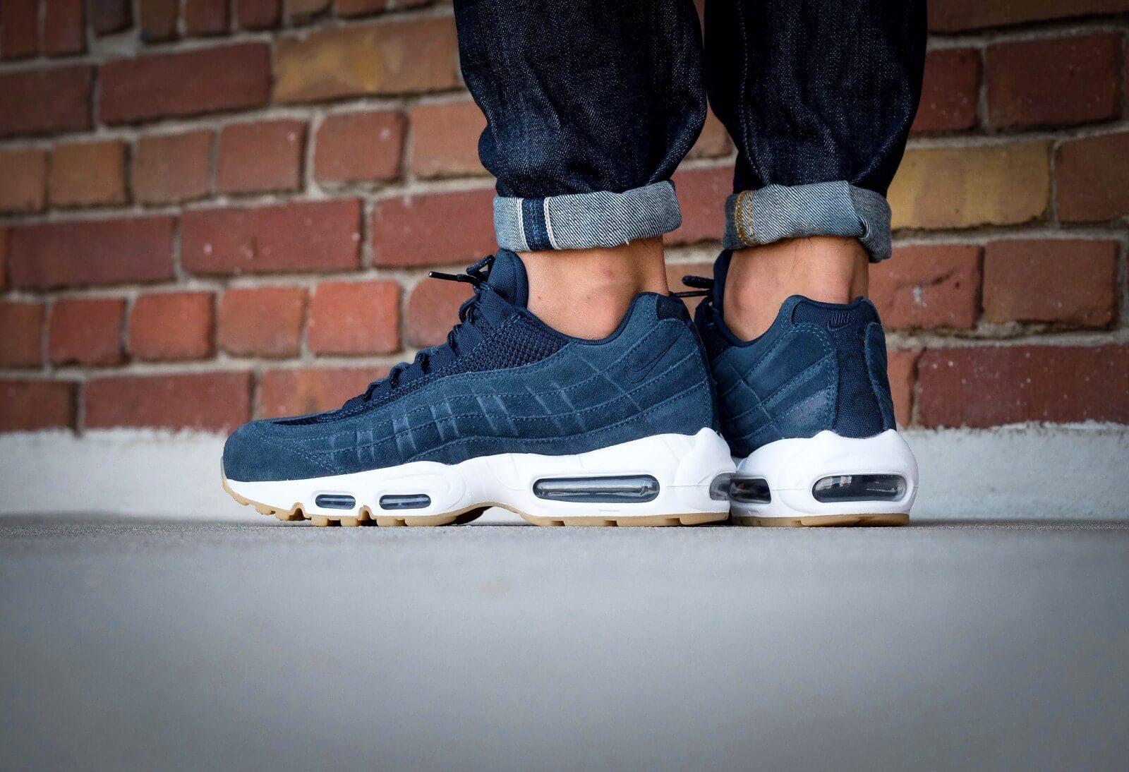 Nike Air Max 95 PRM Armory navyarmory navy blue fox 538416 402