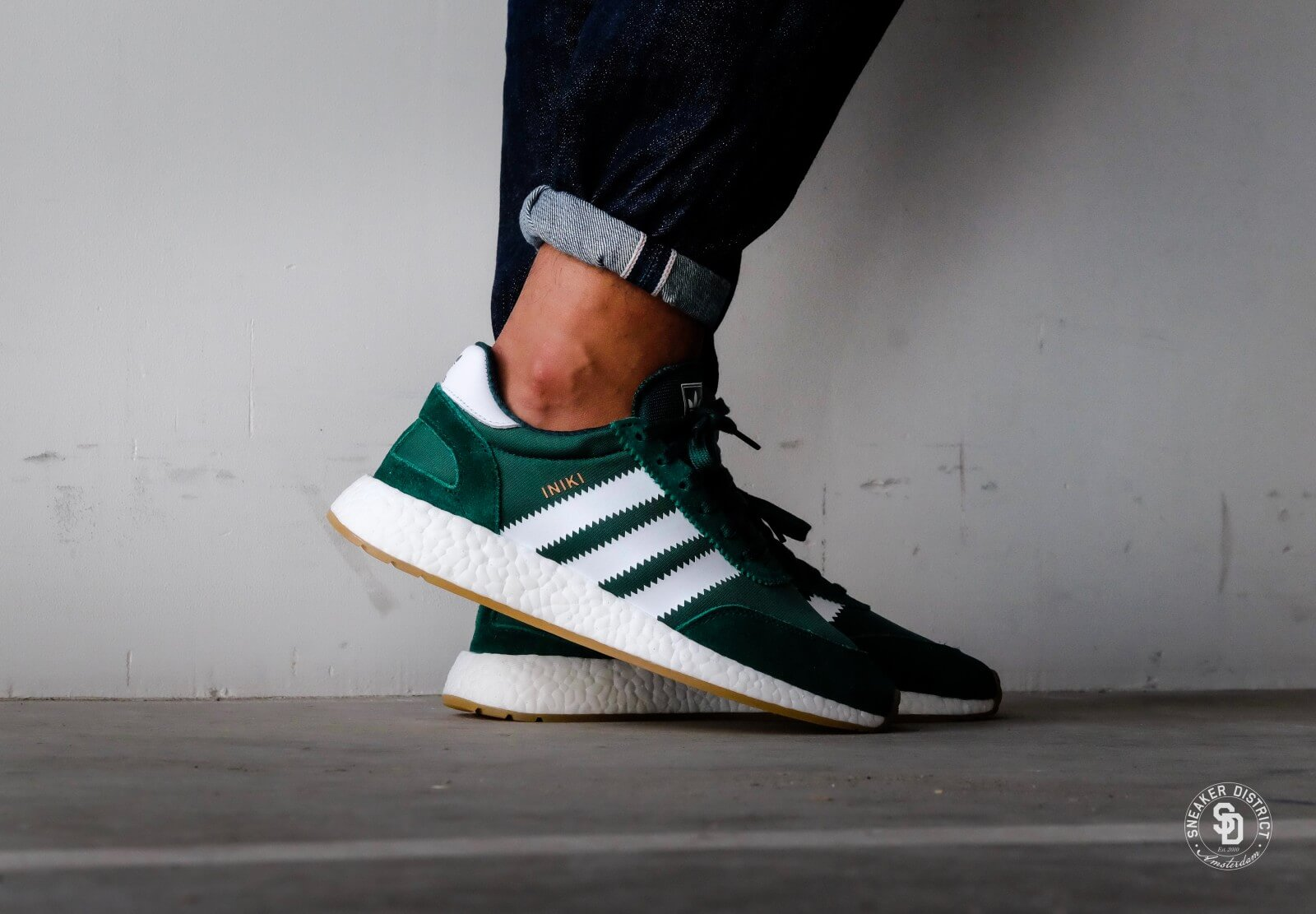 lacer dans style attrayant gamme exclusive adidas iniki vert