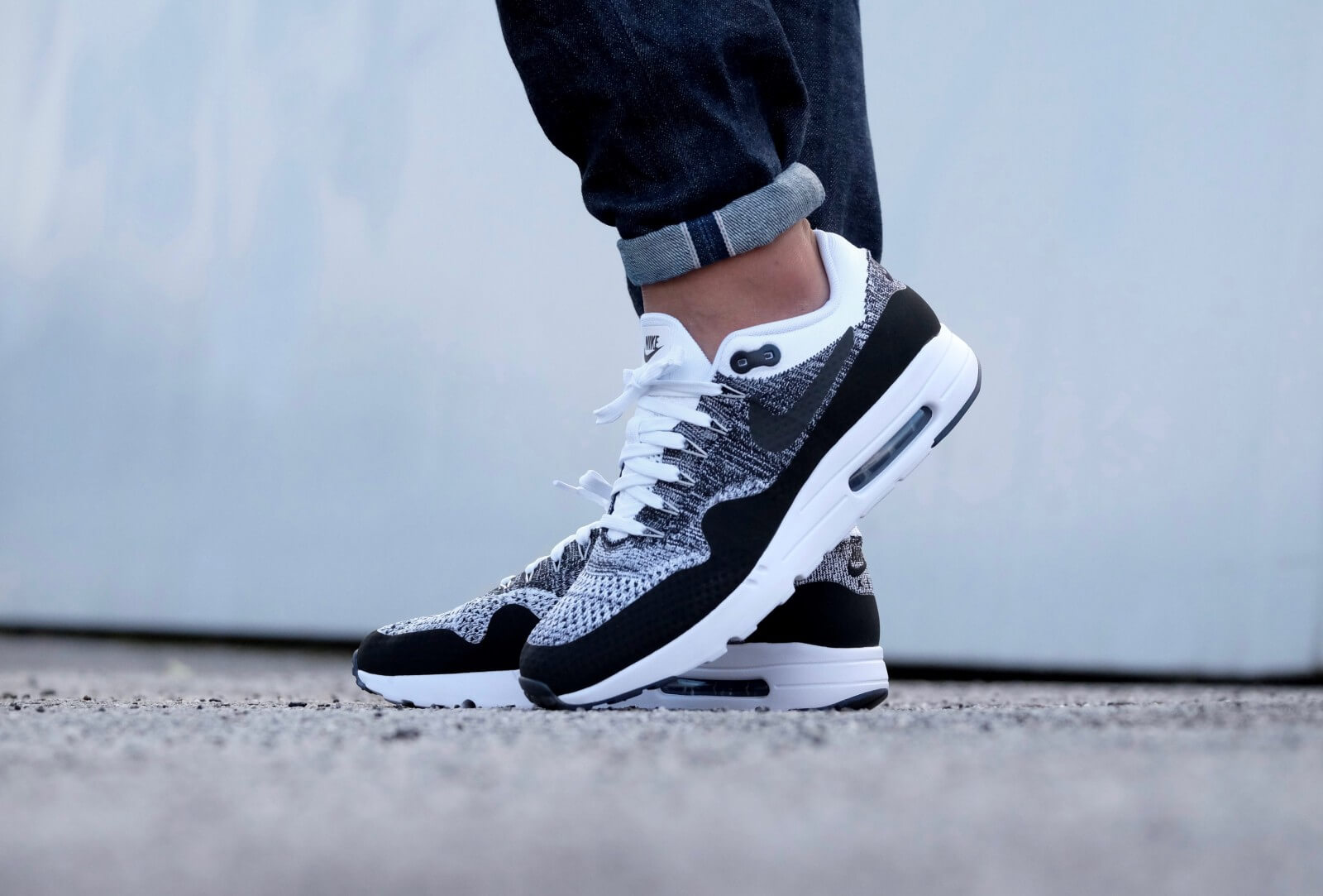 Nike Air Max 1 Ultra Flyknit Black | WAVE®