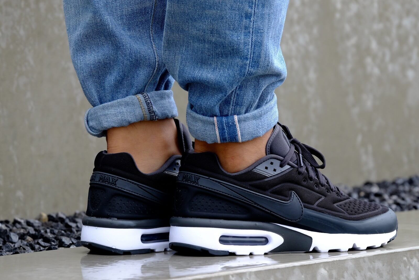 Nike Air Max BW Ultra Special Edition Black Anthracite White 844967 001