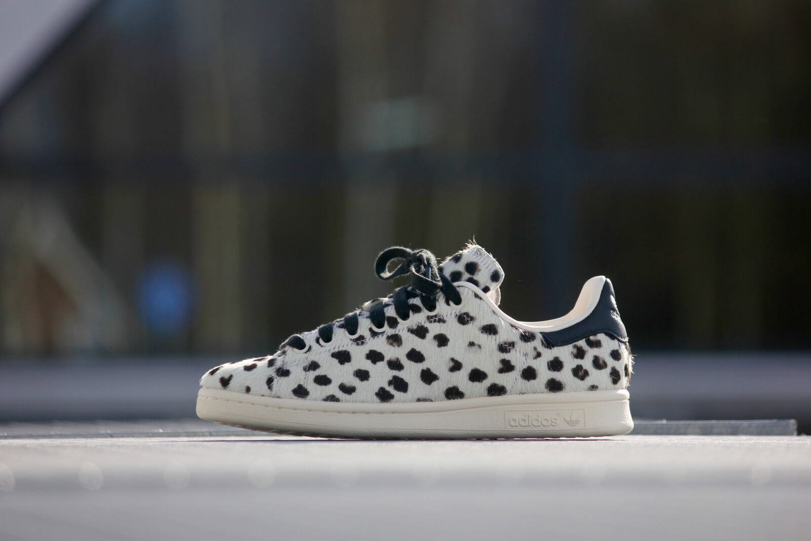Adidas Stan Smith White Leopard Print