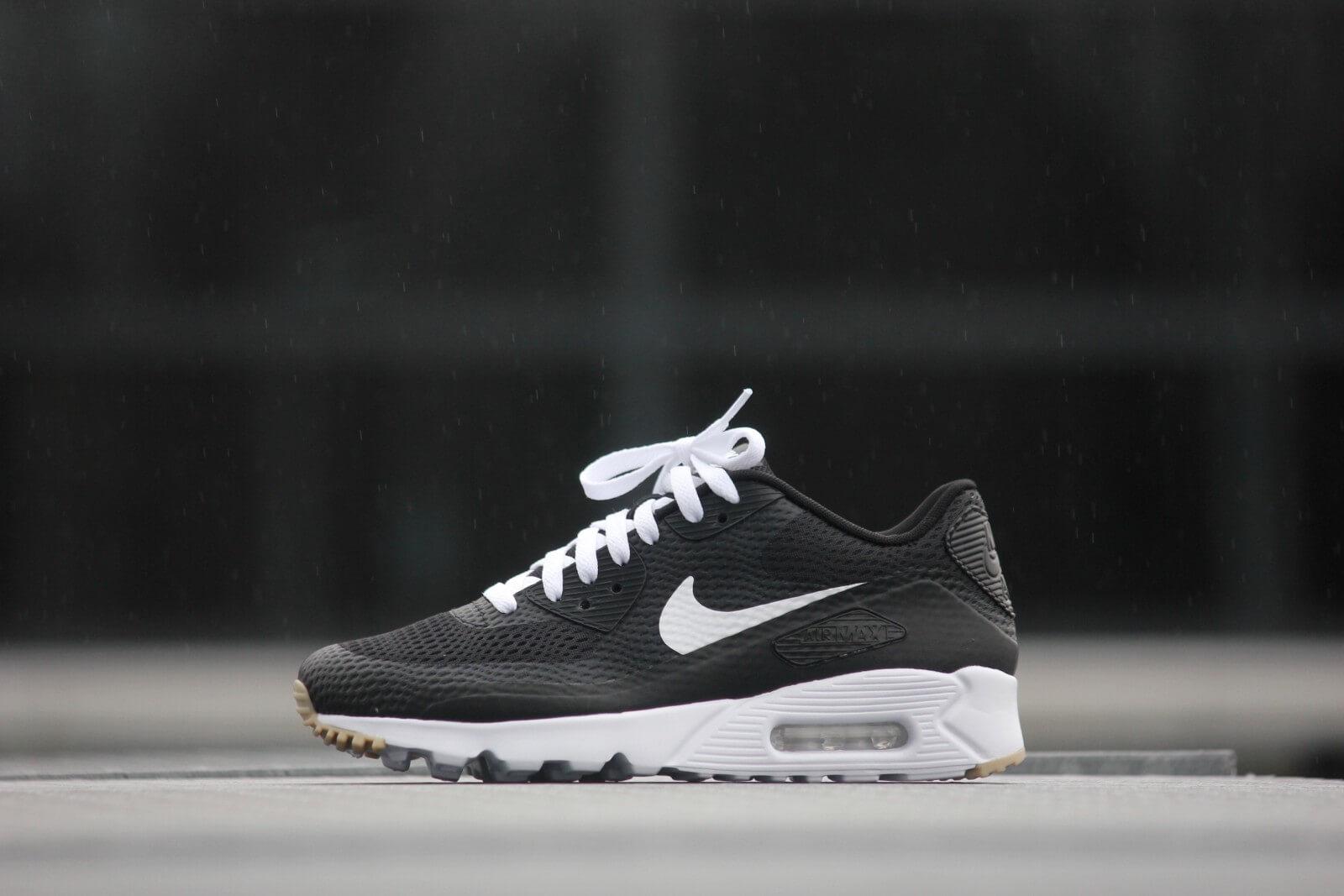 Nike Air Max 90 Ultra Essential Black White Gum