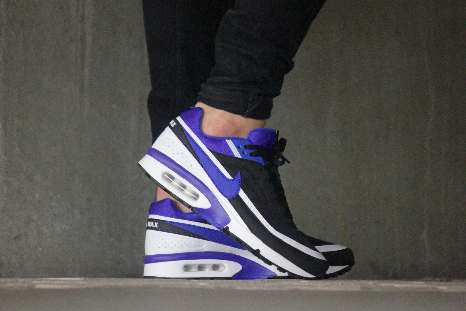 Nike WMNS Air Max BW OG Black Persian Violet 821956 001