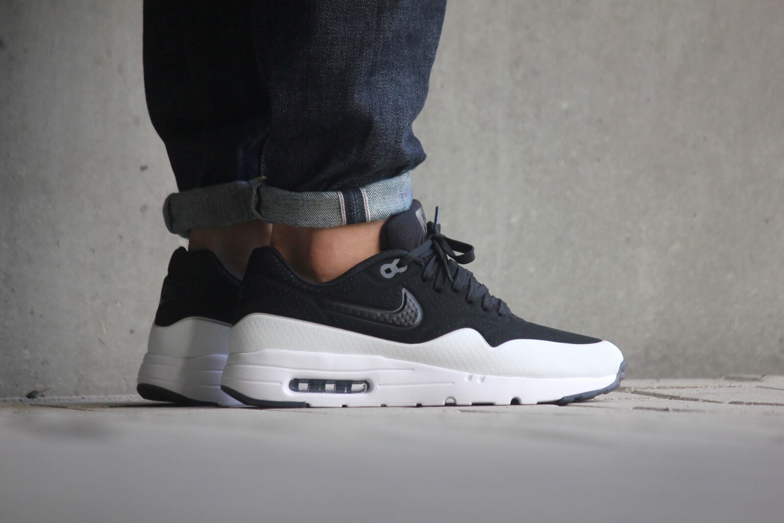 Nike Air Max 1 Ultra Moire BlackBlack White 705297 011