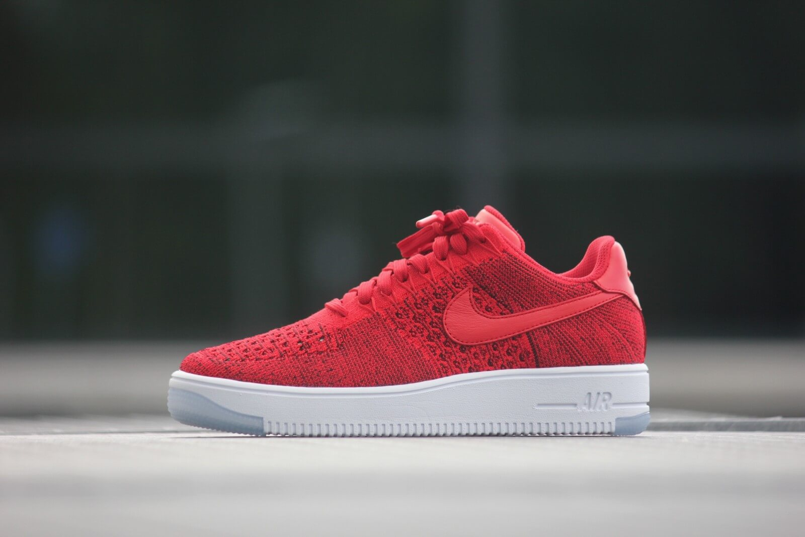 nike air force 1 flyknit rouge