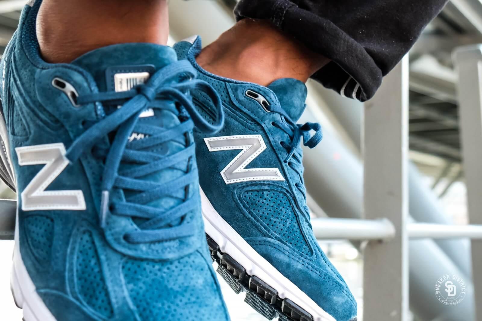 new balance 574 bleu north sea