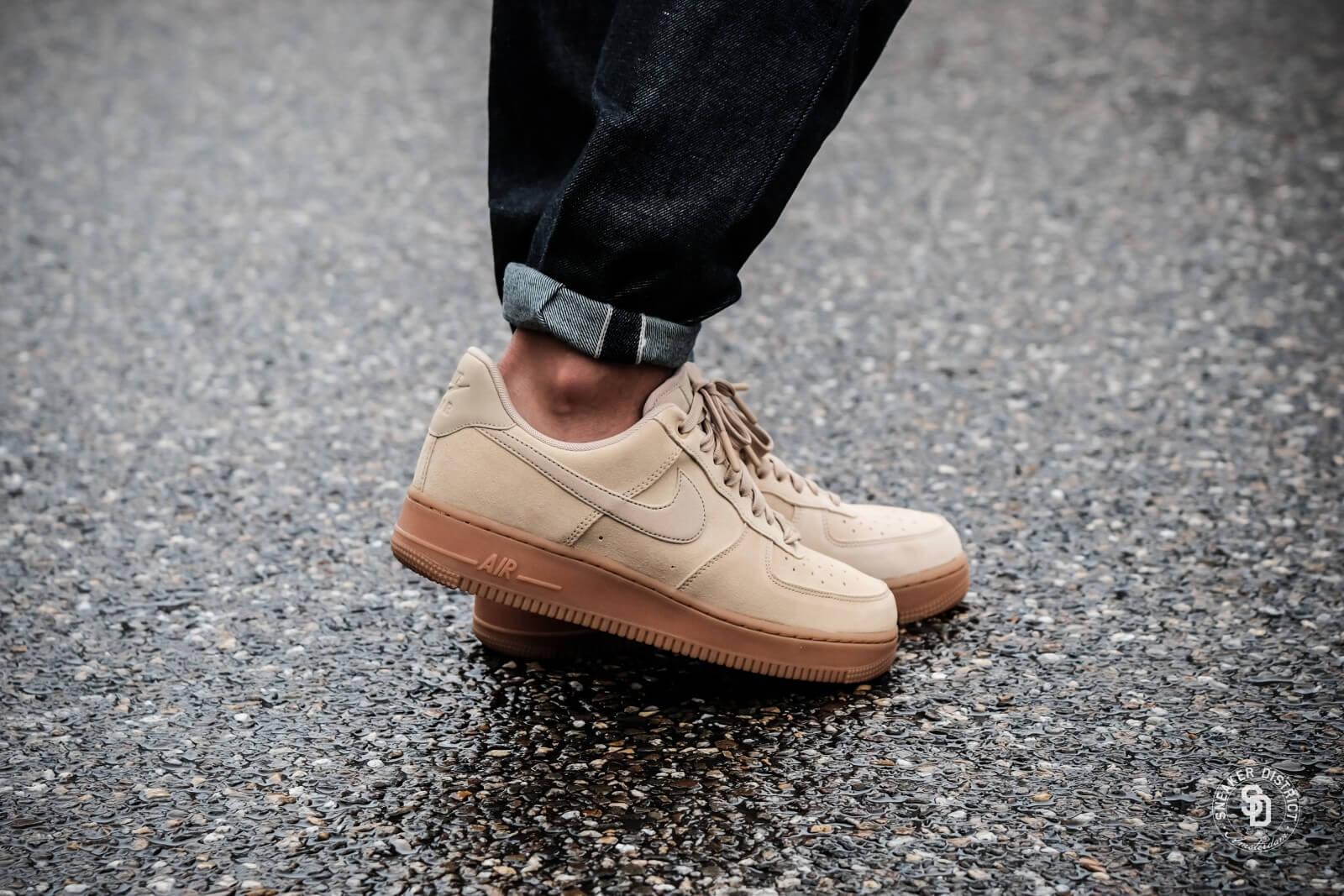 Nike Air Force 1 '07 LV8 Suede Mushroom Gum Medium Brown