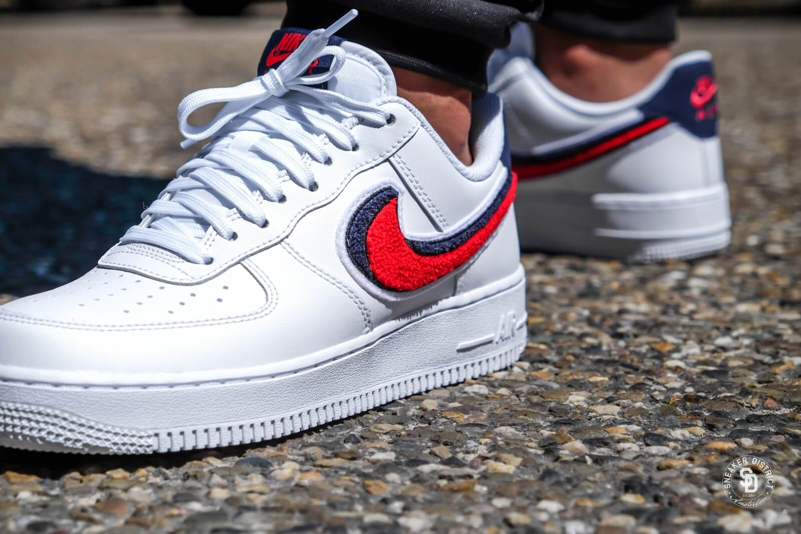 sports shoes 2b13c b6a35 Nike air force white university red blue void jpg 1600x1067 Blue white void
