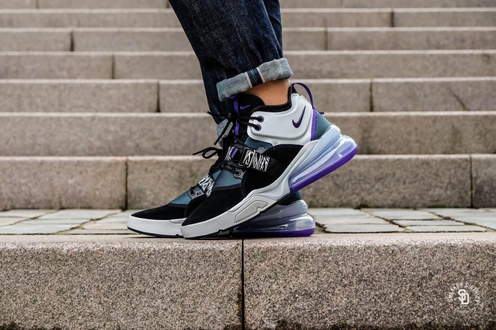744b3139a34e Nike air force black court purple atomic teal jpg 1600x1067 Purple nike 270
