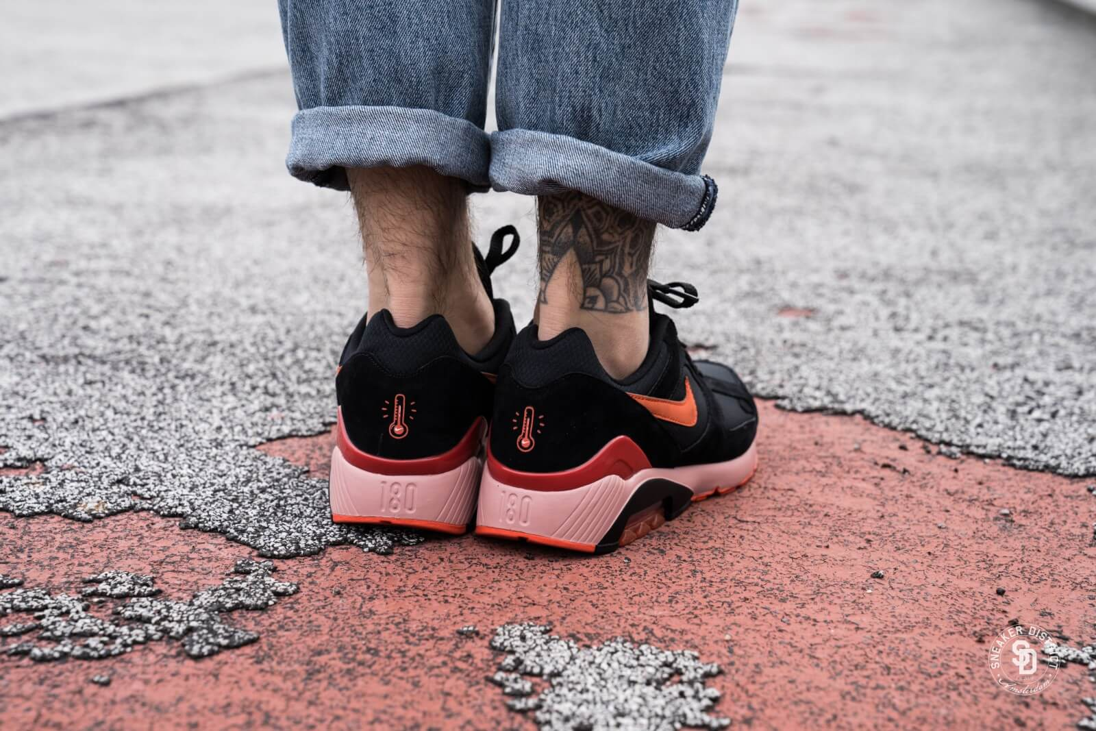 Nike Air Max 180 Fire and Ice BlackTeam Orange AV3734 001