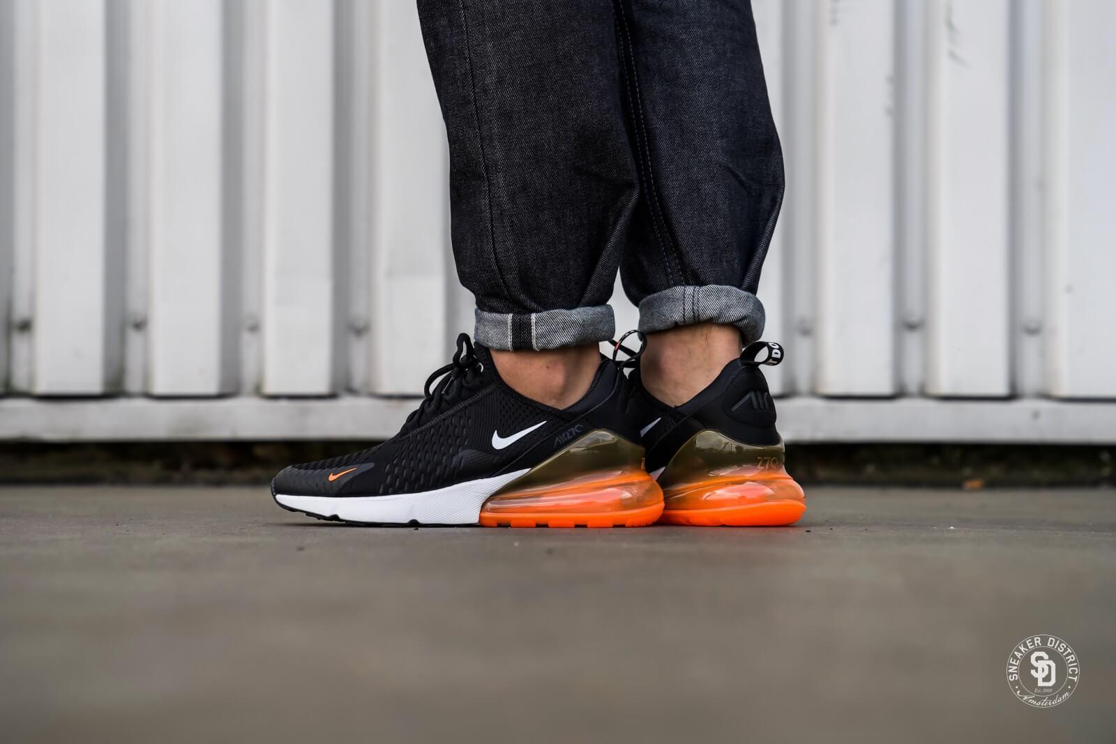Nike Air Max 270 BlackWhite Total Orange AH8050 014