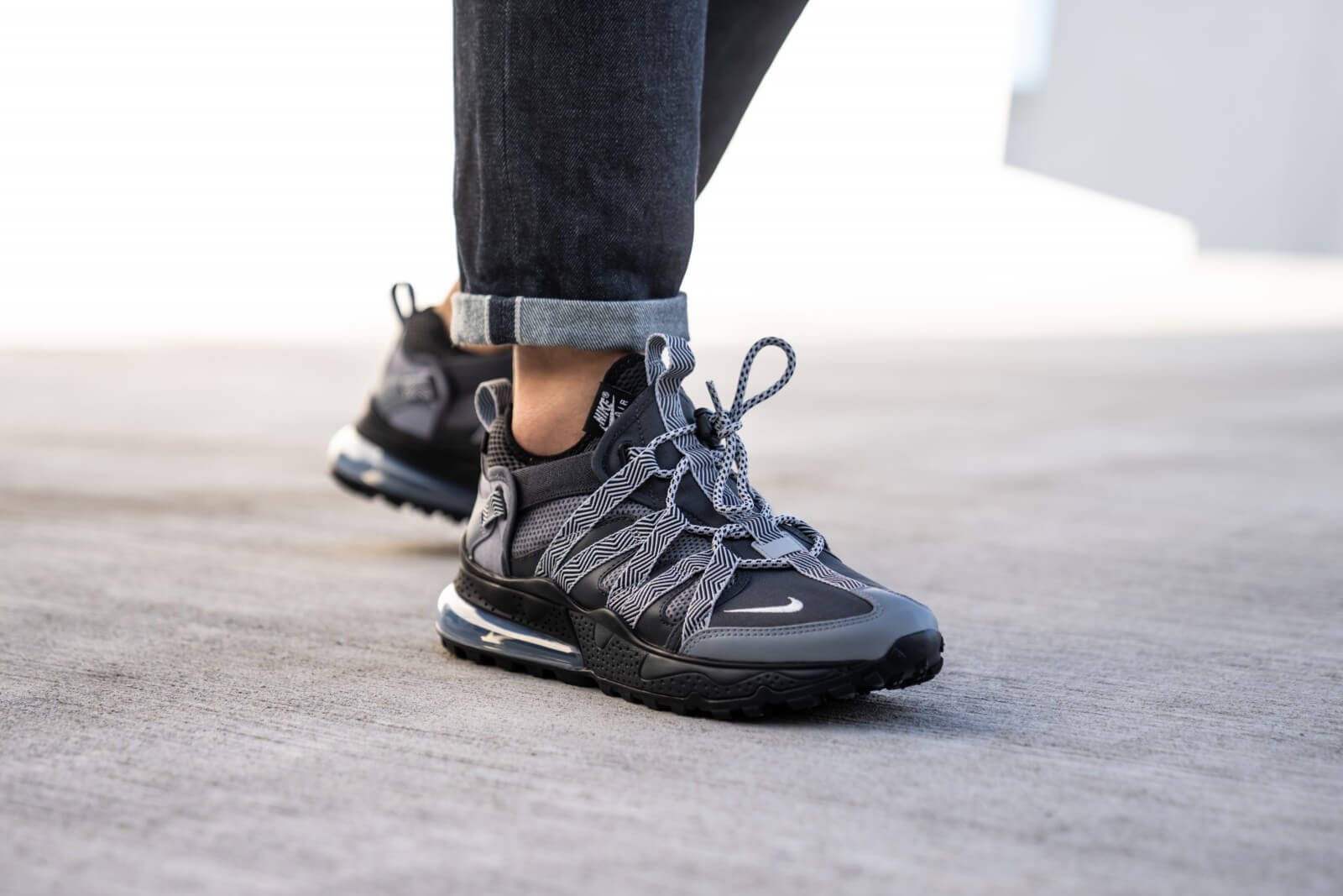 Nike Air Max 270 Bowfin Anthracite, Silver & Black | END.