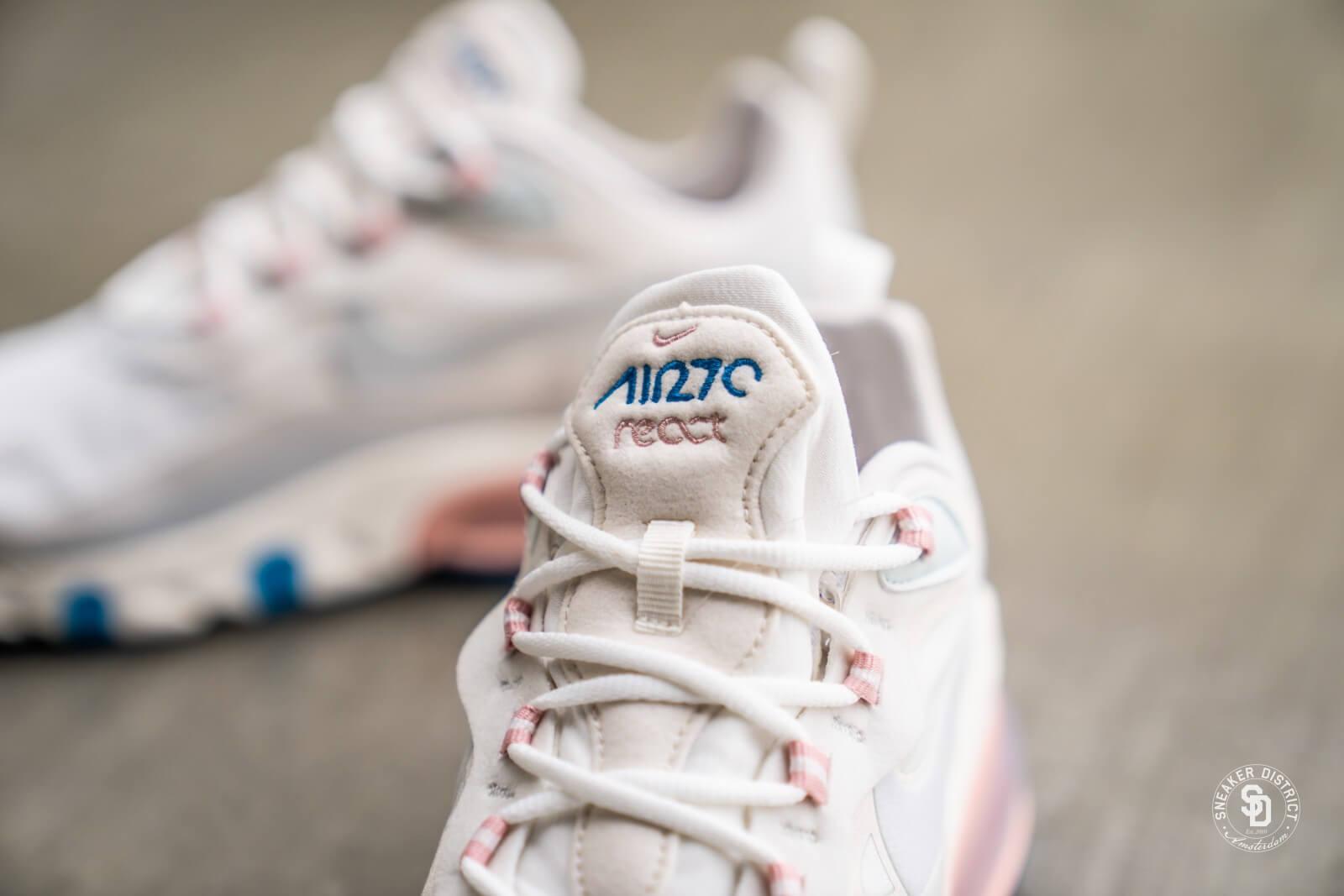 Nike Air Max 270 React Summit WhiteGhost Aqua AO4971 100