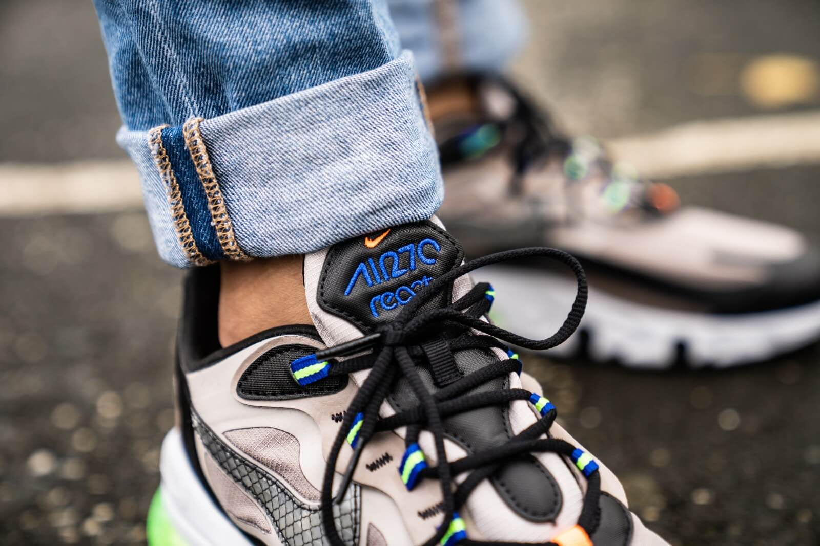 Nike Air Max 270 React WTR Sepia StoneBlack Moon Particle CD2049 200