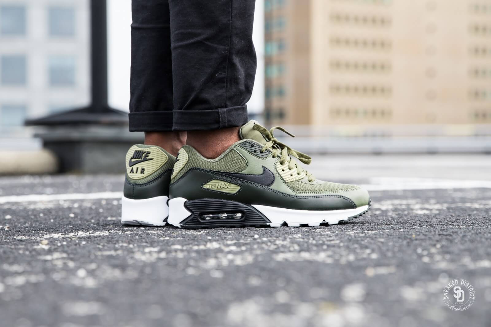 best shoes new concept shades of Nike Air Max 90 Essential Medium Olive/Black-Sequoia-Neutral Olive ...