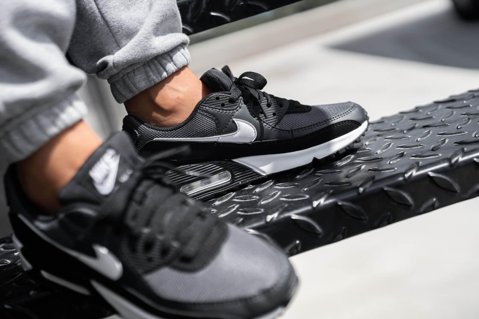 Nike Air Max 90 Iron Grey/White-dk Smoke Grey