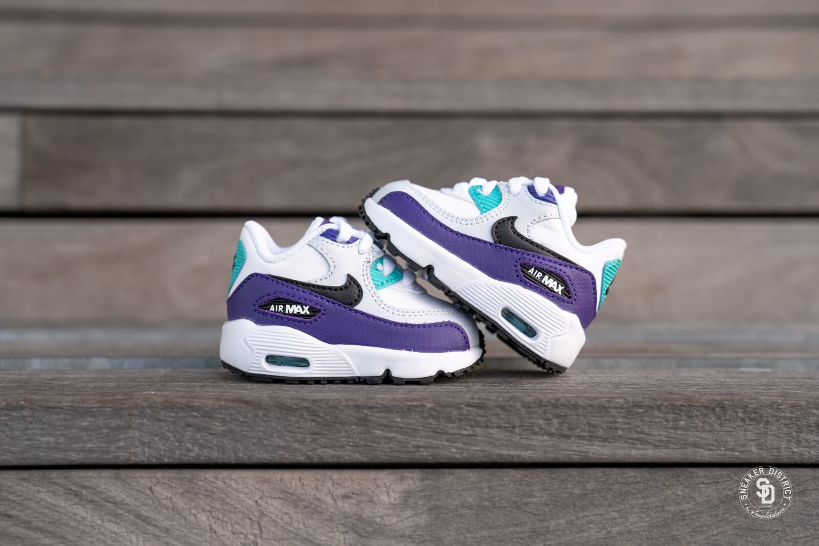 nike air max 90 leather violet