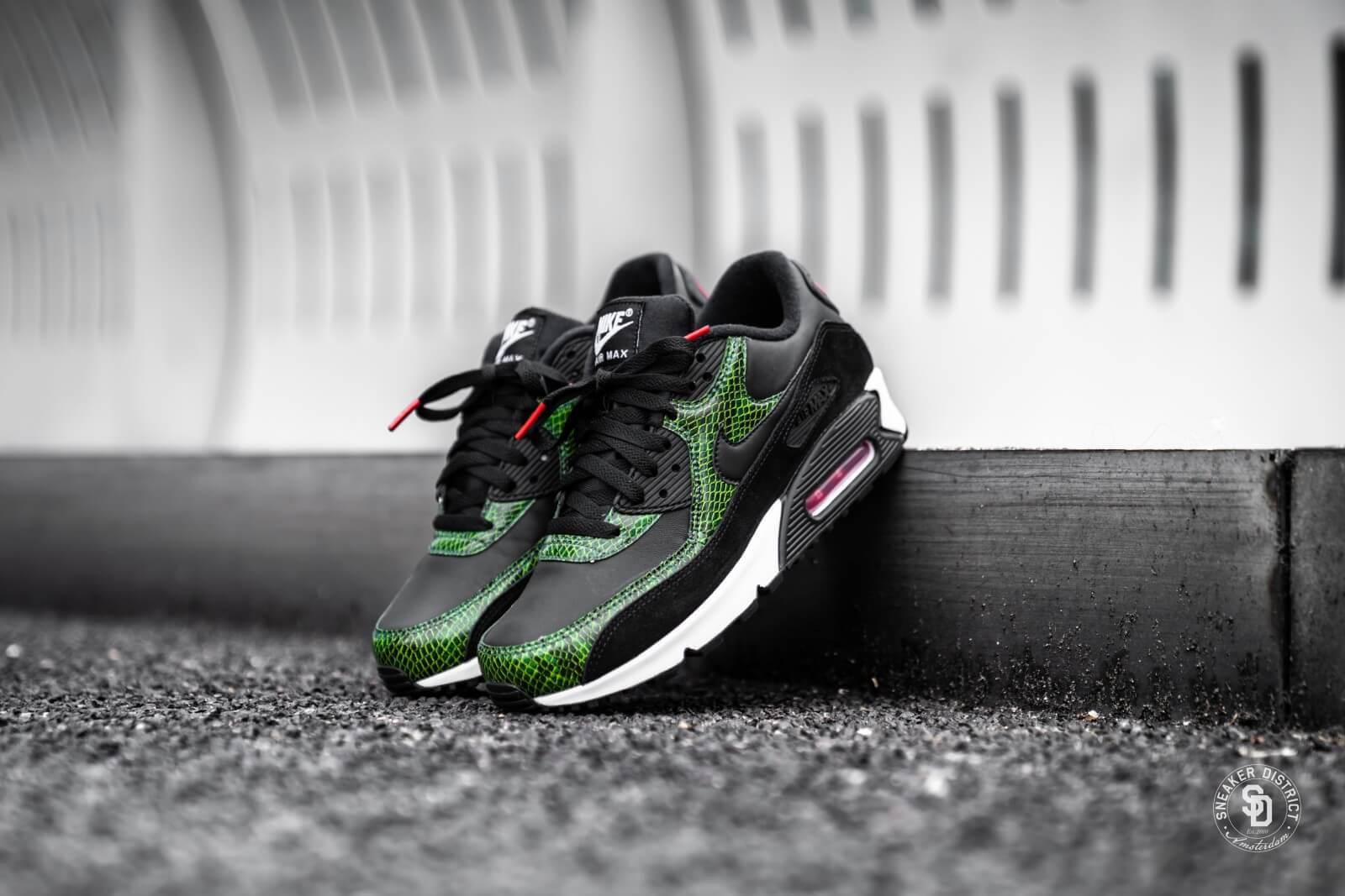 Nike Nike Air Max 90 QS BlackBlack Cyber Fir