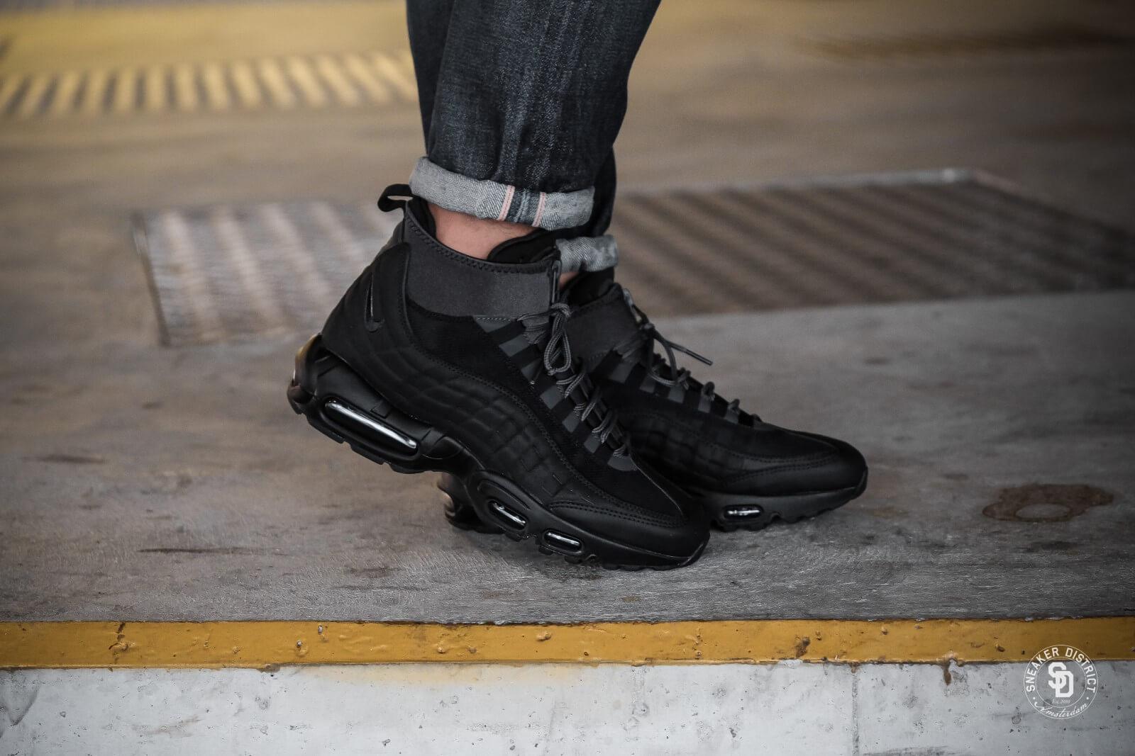 Nike Formateurs Max 95 Sneakerboots D'air En Noir 806809-001 - Noir 6Kjqhm