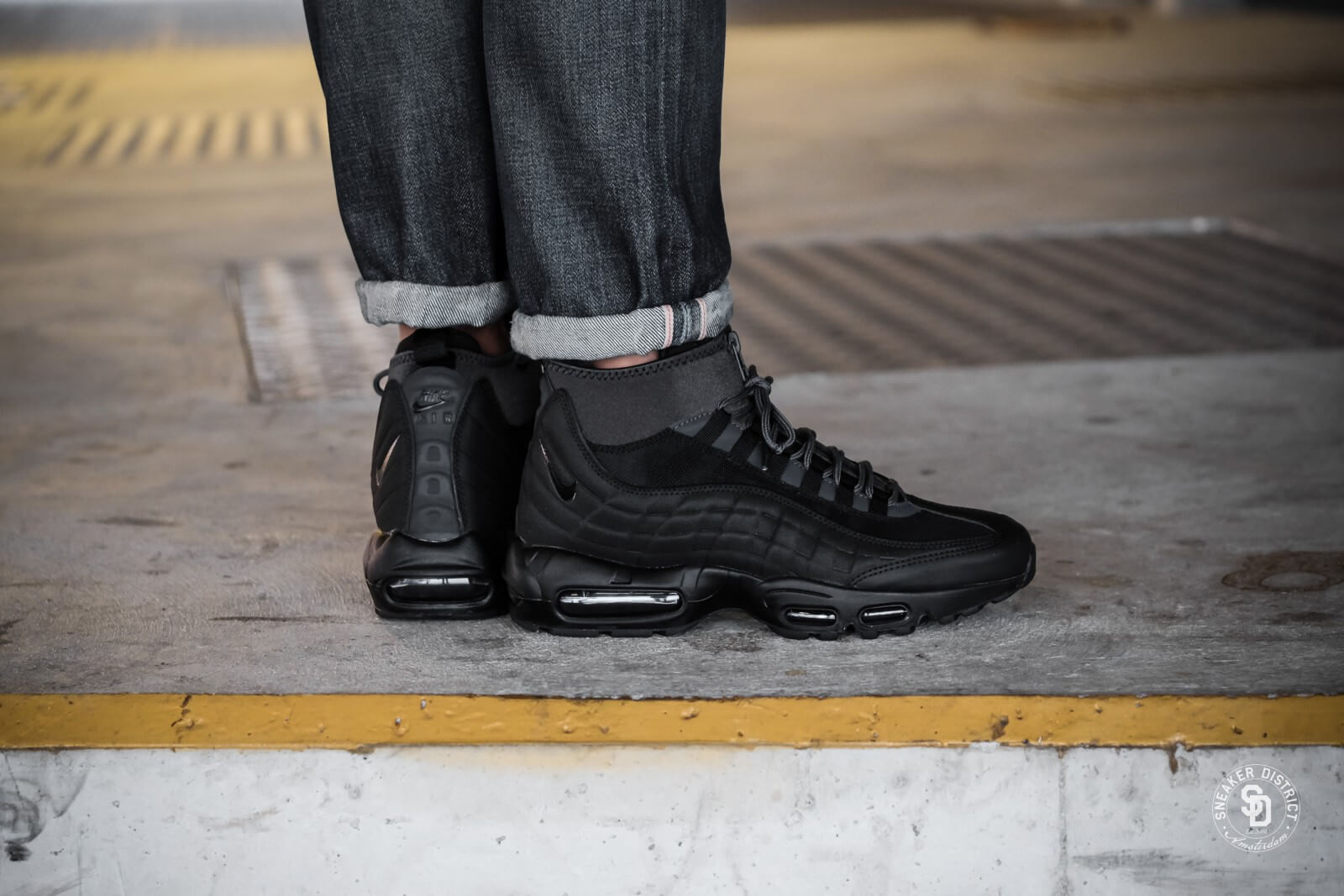 Nike Air Max 95 Sneakerboot BlackAnthracite White 806809 001