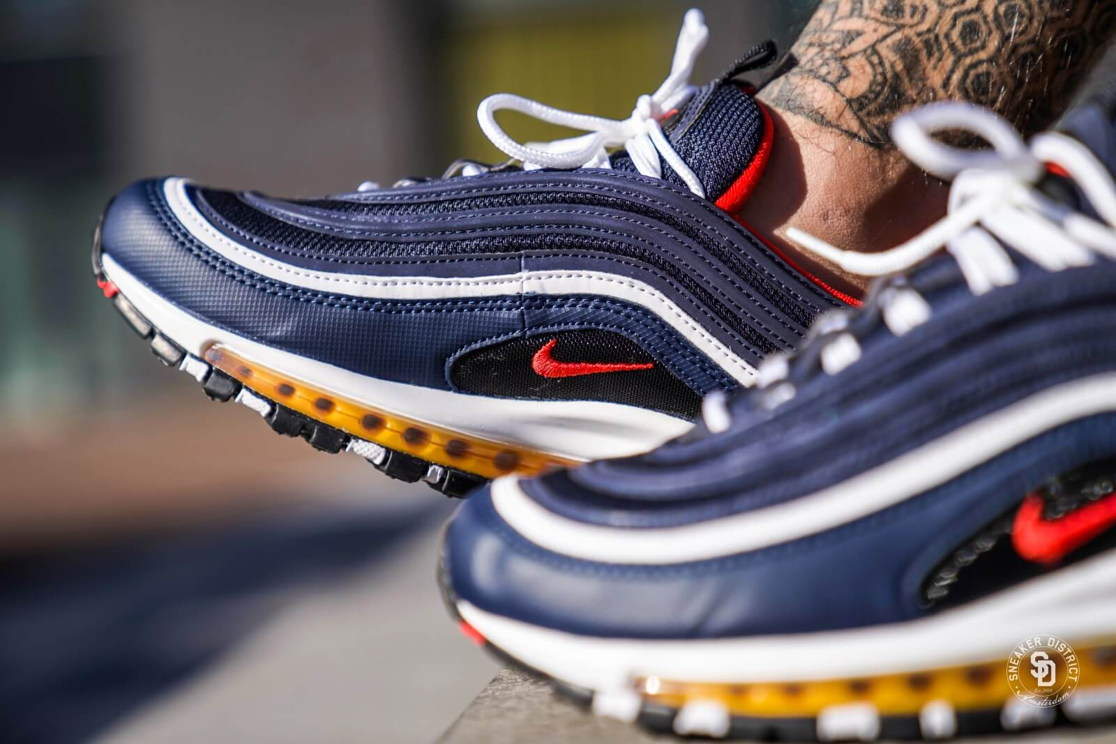 air max 97 blue and red