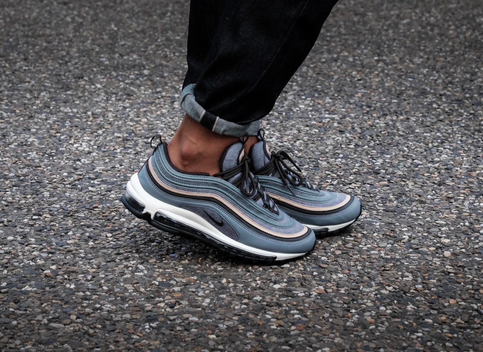 Nike Air Max 97 Premium Cool GreyDeep Pewter Mushroom heren sneakers | Sneaker District
