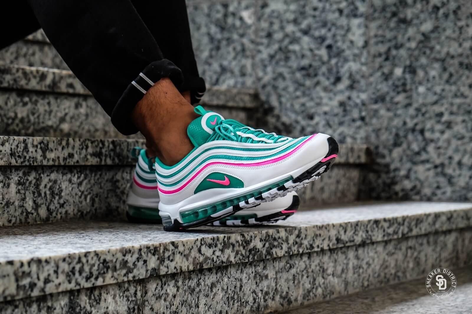 Nike Air Max 97 White/Pink Blast