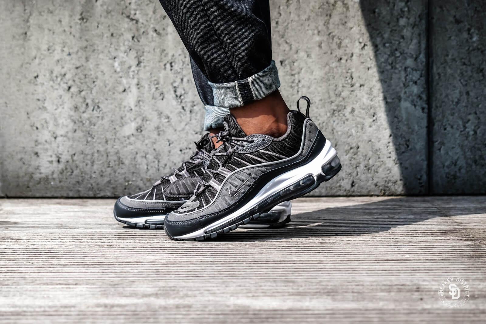 Nike Air Max 98 SE Black/Anthracite-Dark Grey-White