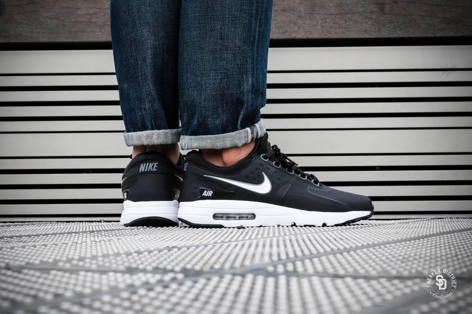 Nike Air Max Zero Essential BlackWhite Dark Grey Wolf grey 876070 013
