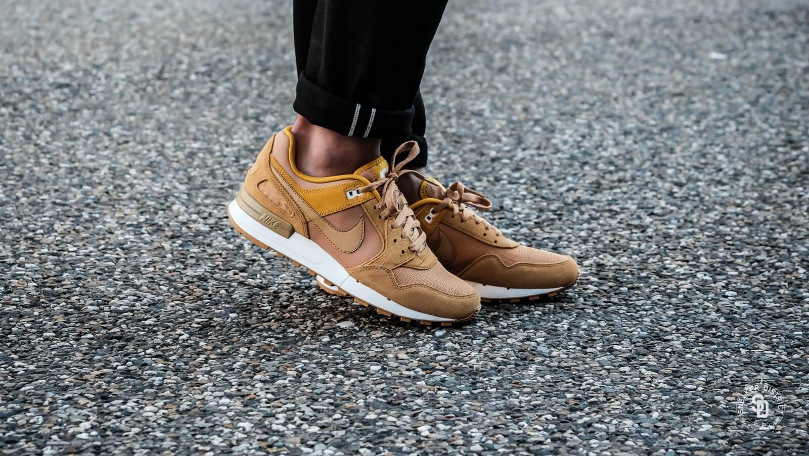 nike pegasus with gold