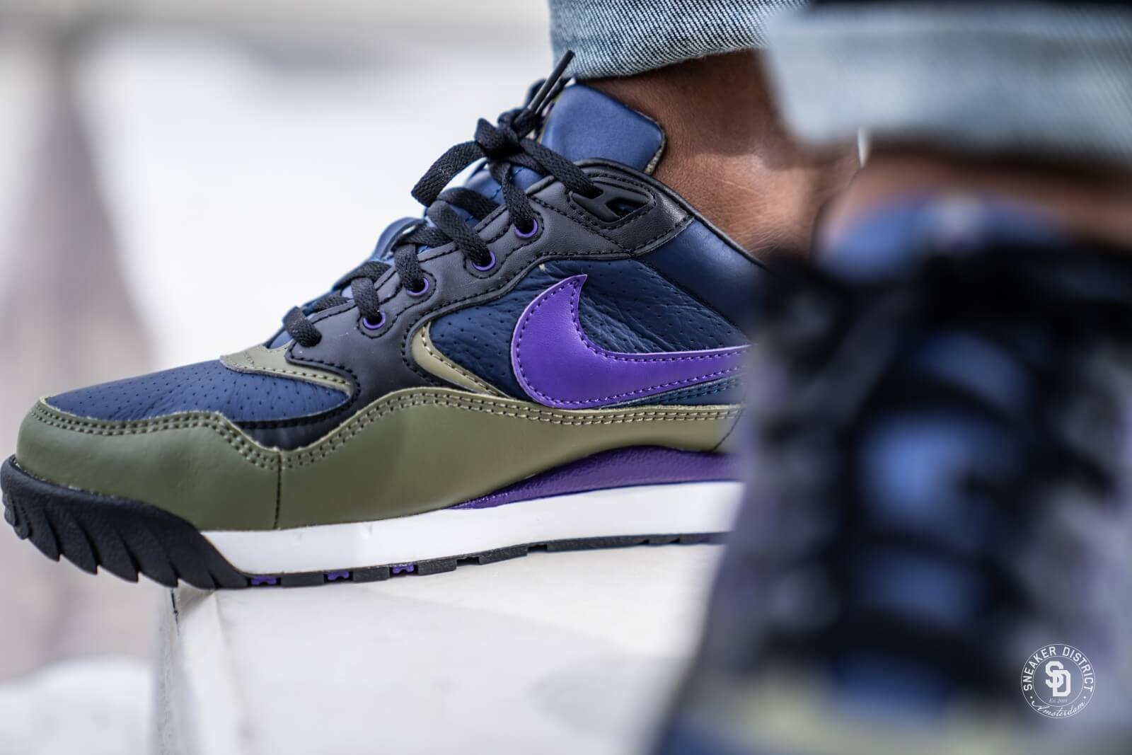 Nike Air Wildwood ACG Midnight NavyCourt Purple AO3116 400
