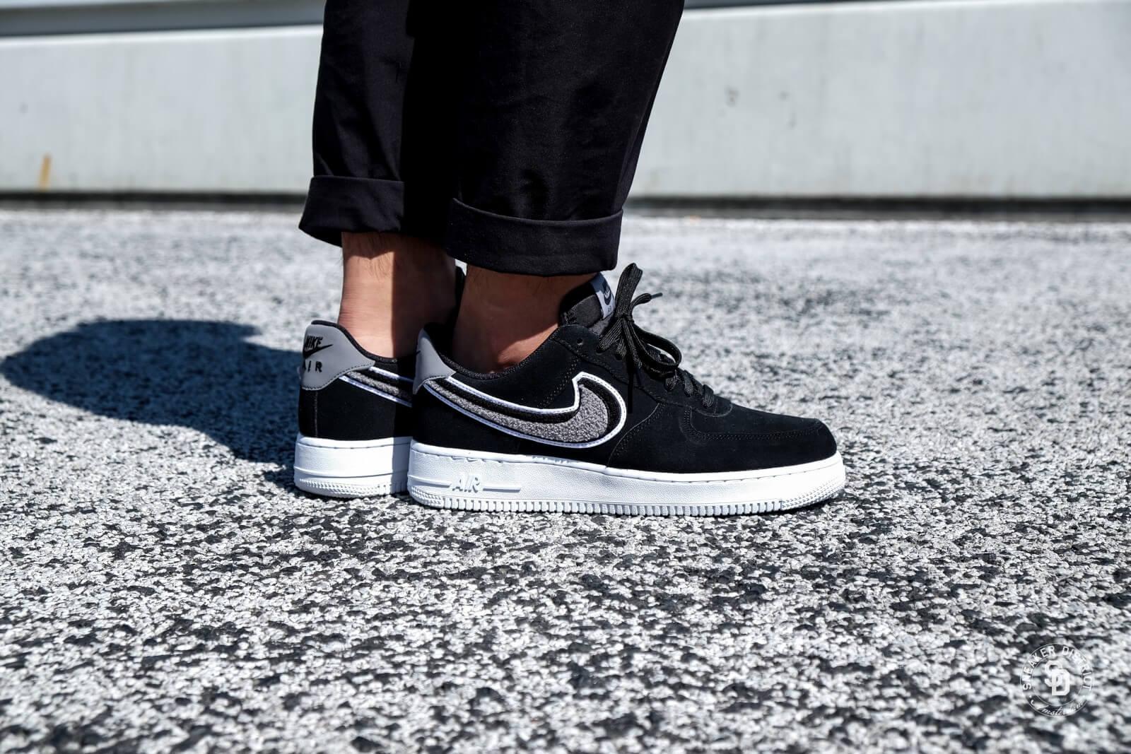 Nike Air Force 1 Low 07 LV8 Black Cool Grey White 823511 014