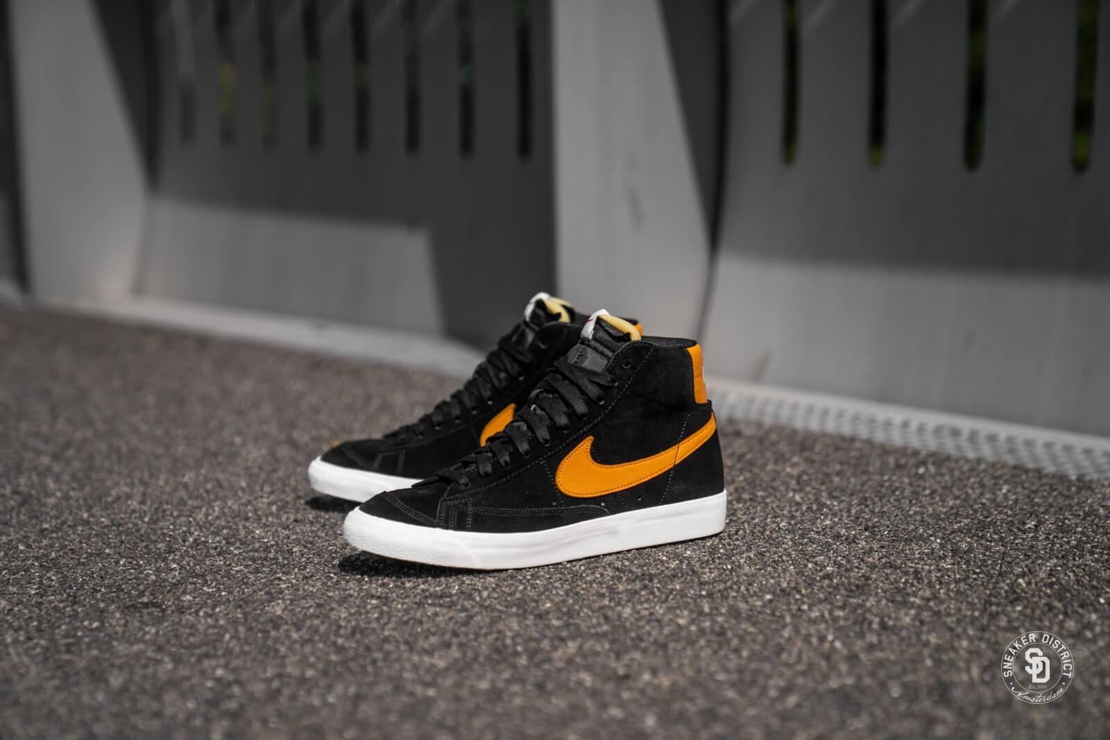 Nike Blazer 77 BlackAmber Rise Sail CJ9693 001