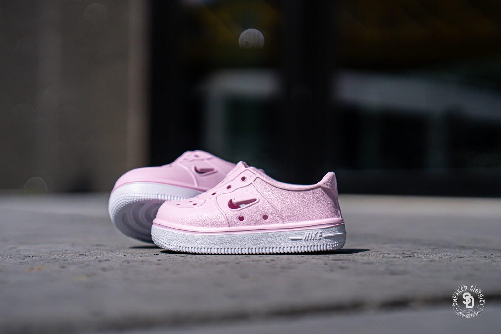 Nike Foam Force 1 TD Pink FoamWhite AQ2442 600