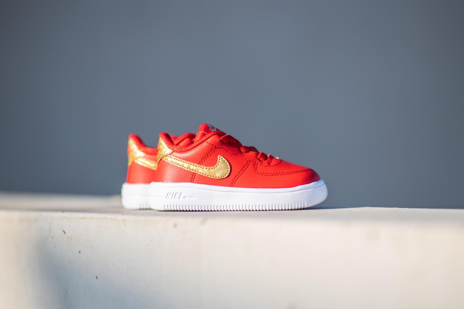 nike air force 1 pale pink university red