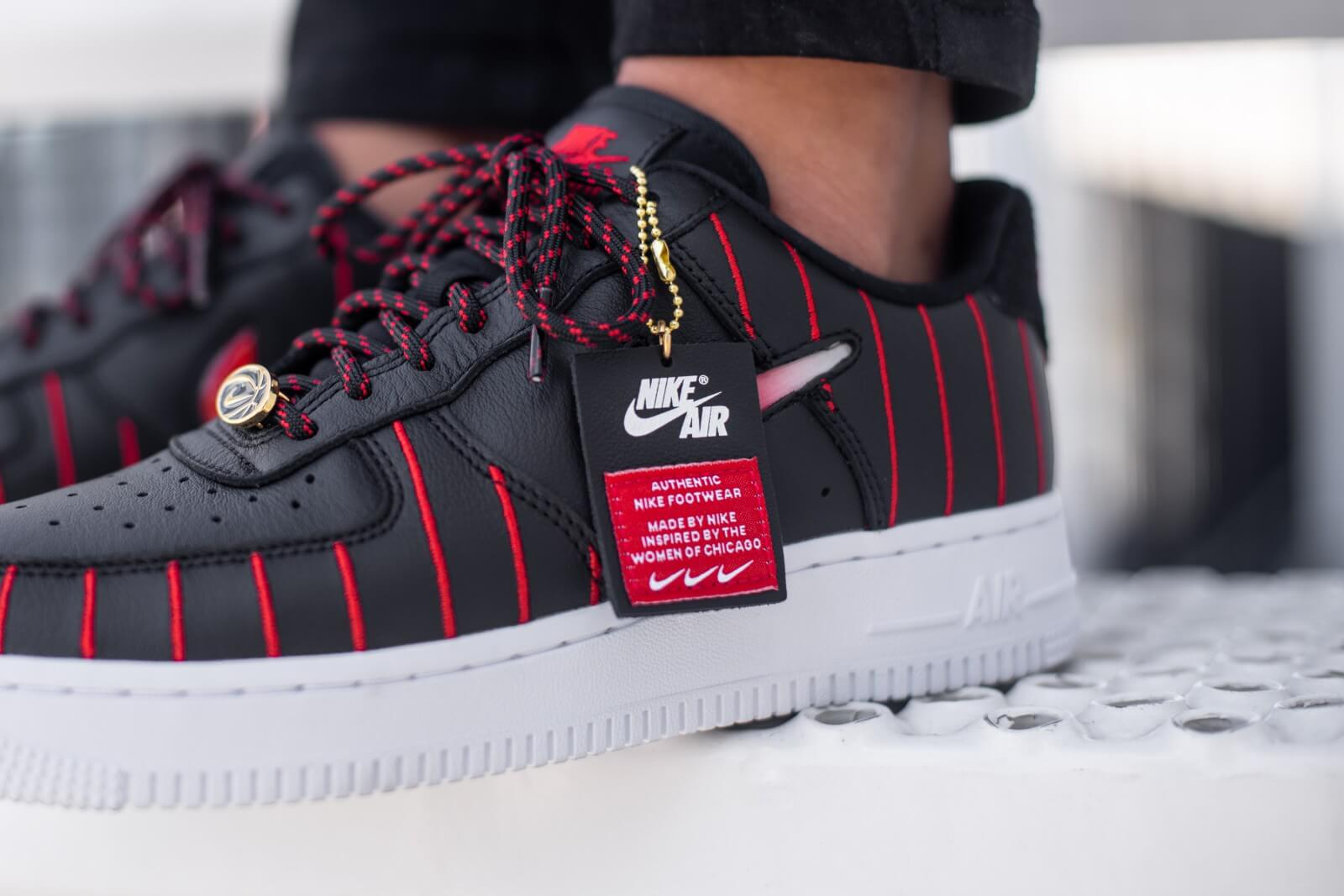 Дамски кецове и обувки Nike W Air Force 1 Jewel QS Black