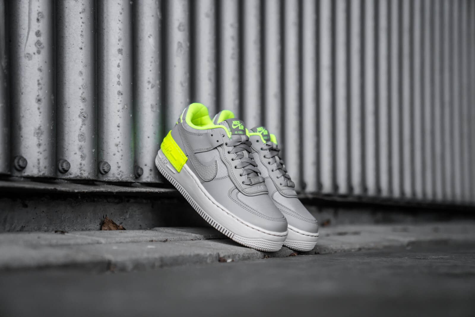 nike air force 1 shadow femme grise