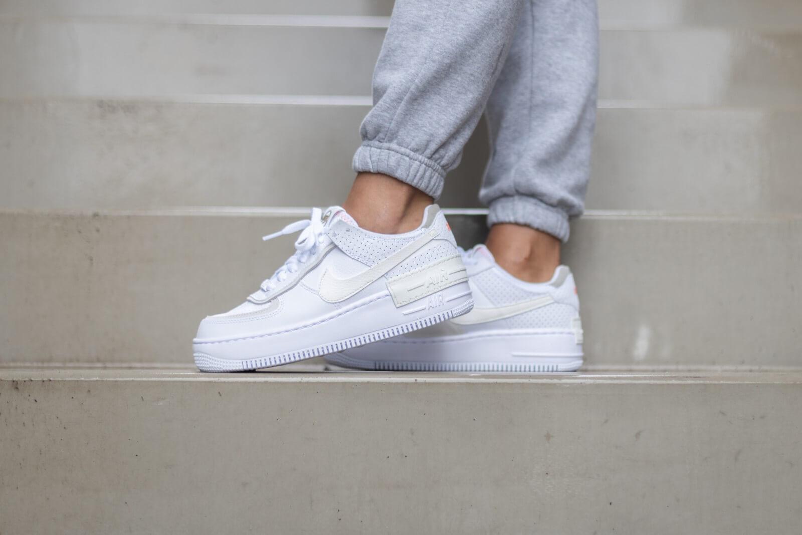 Nike Women's Air Force 1 Shadow WhiteSail Stone CZ8107 100