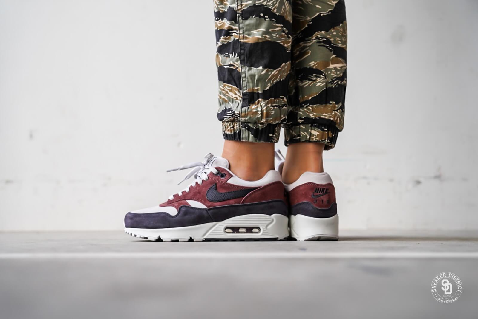 nike air max 90 1 red sepia