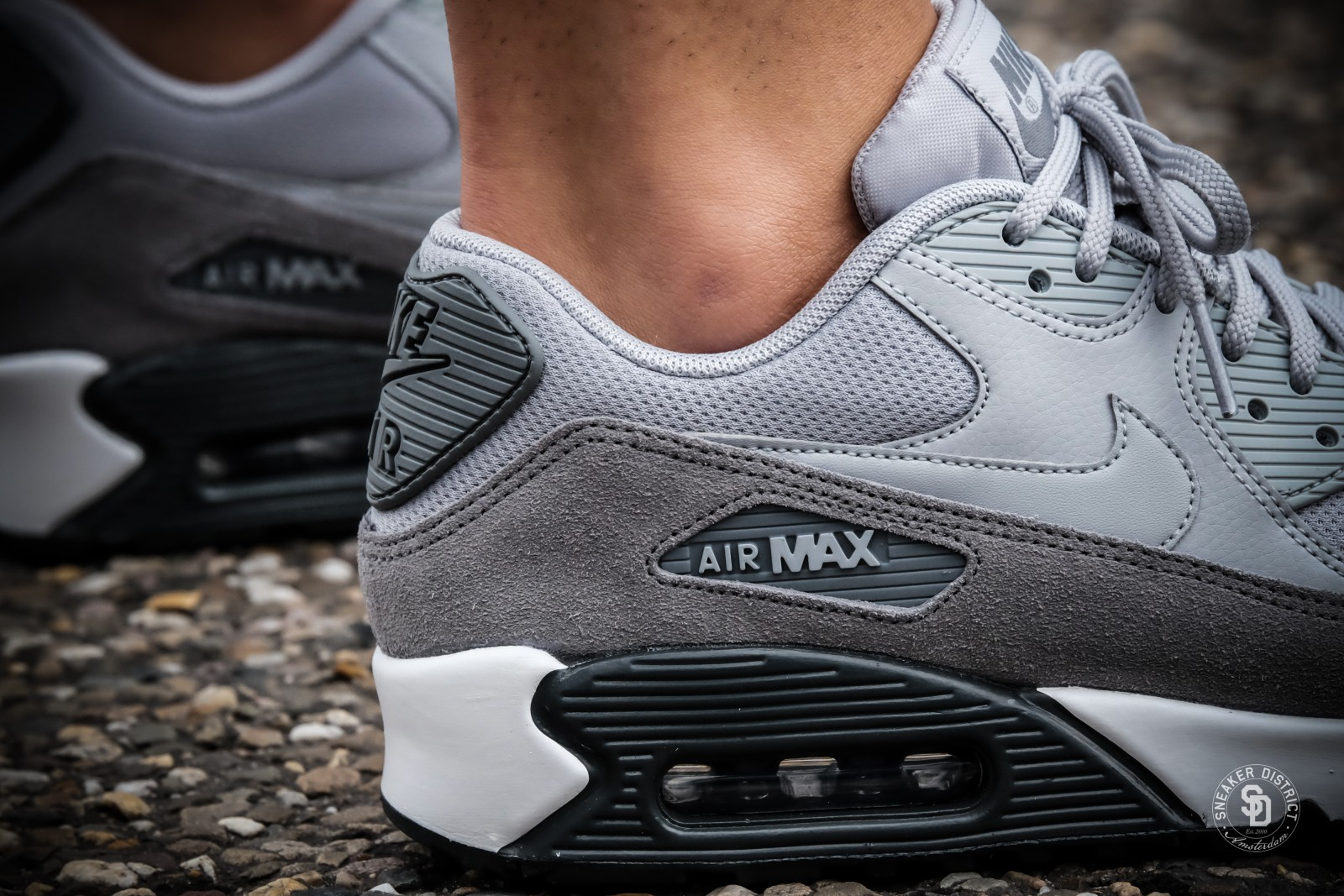 Nike Women's Air Max 90 Cool Grey/Anthracite-White | Dames sneakers | Sneaker District