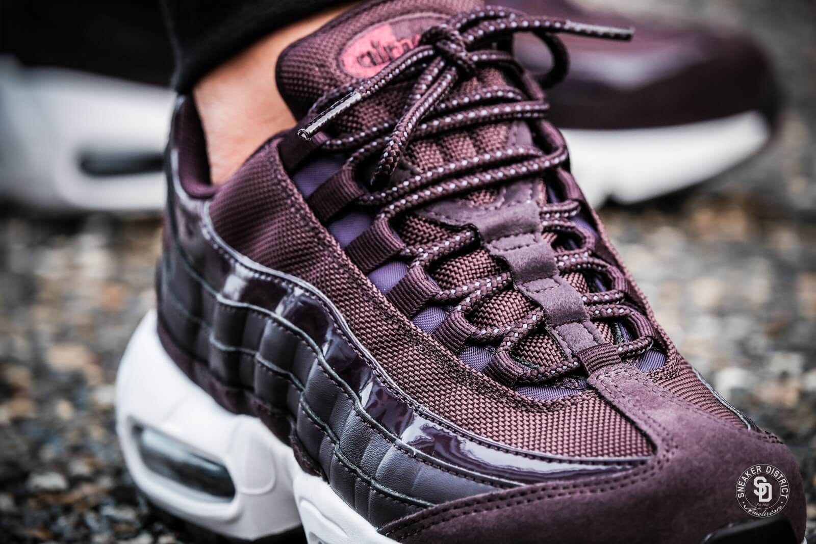 air max 95 rouges bordeaux homme